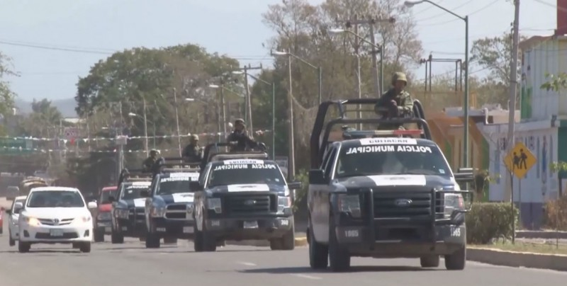 Siguen los operativos de seguridad en Culiacán