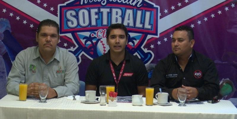 Se jugará el Torneo Mazatlán Softball Classic