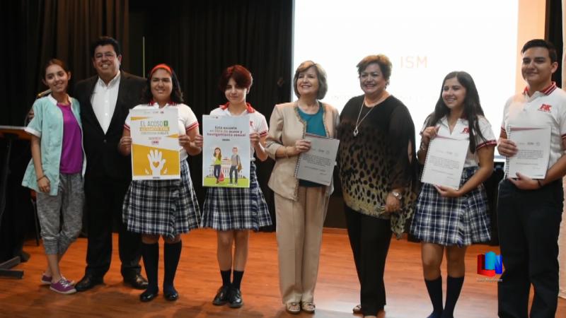 Buscan prevenir el hostigamiento y acoso sexual en estudiantes sonorenses