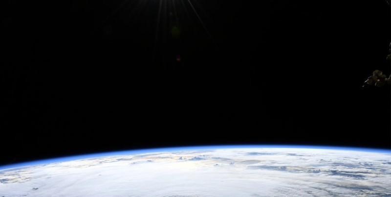#Foto Así se ve el huracán Lane desde el espacio