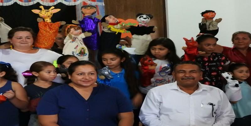 Concluyen talleres de títeres en Casa Peiro