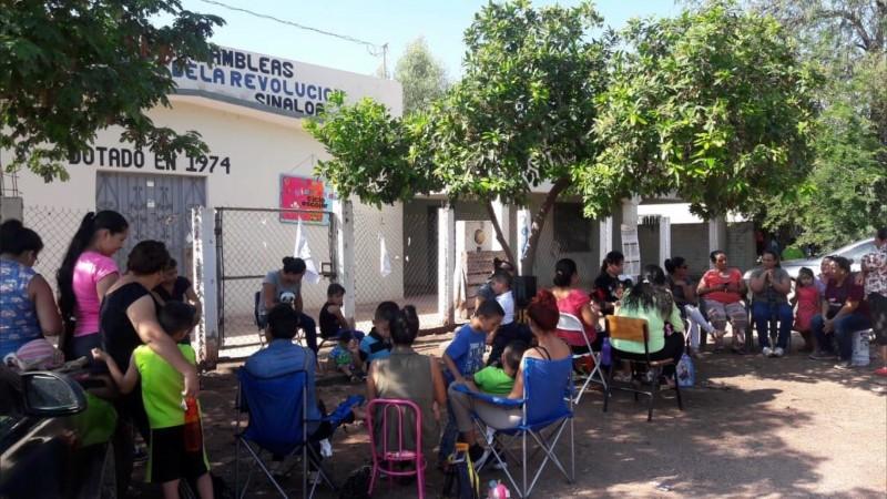 Se regularizan clases en escuelas tomadas en Ahome