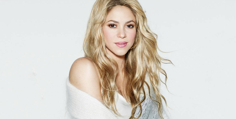 Shakira fue a la NASA