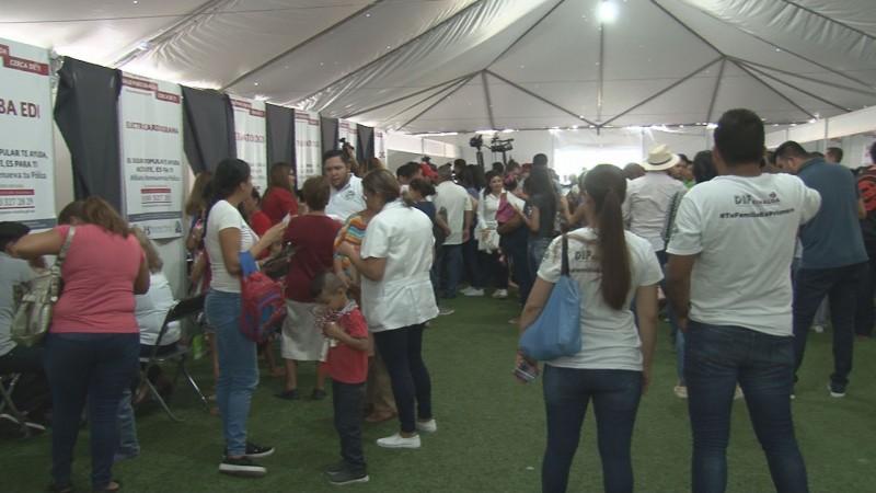 Llevan  programa de Salud Puro Sinaloa a la población vulnerable
