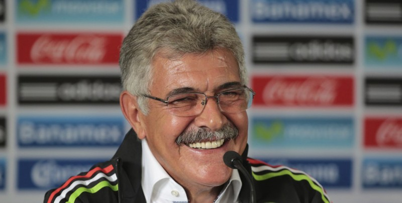 Tuca Ferretti, nuevo DT interino de la selección mexicana