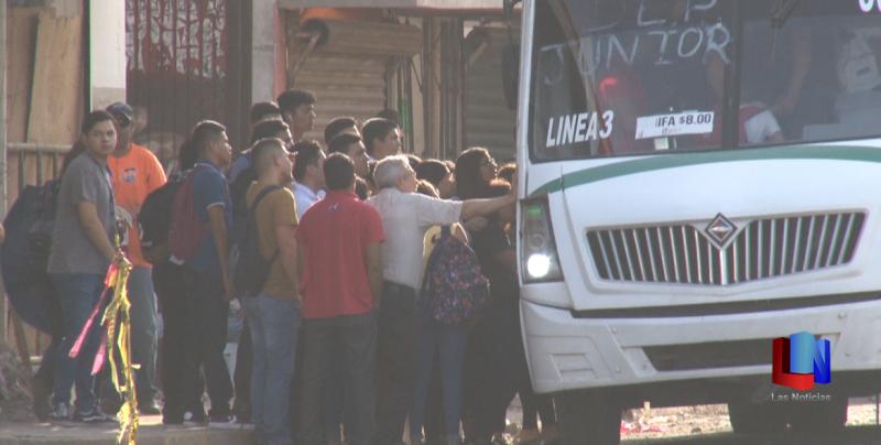 En Cajeme, usuarios del transporte sin inconvenientes en el servicio