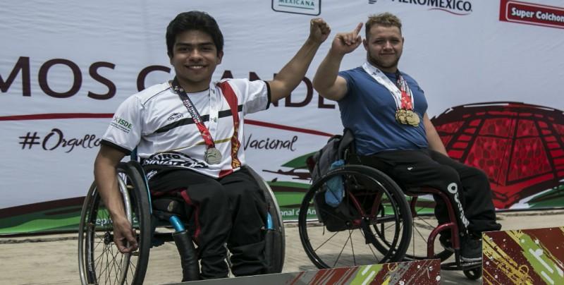 Cuatro preseas más para Sinaloa en la Para-Natación