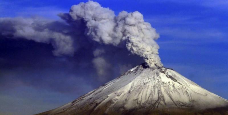 Popocatépetl registra explosión y 5 minutos de sismo