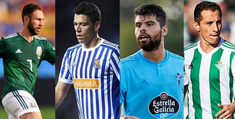 Lo que dijo la Liga española de la calidad de los jugadores mexicanos