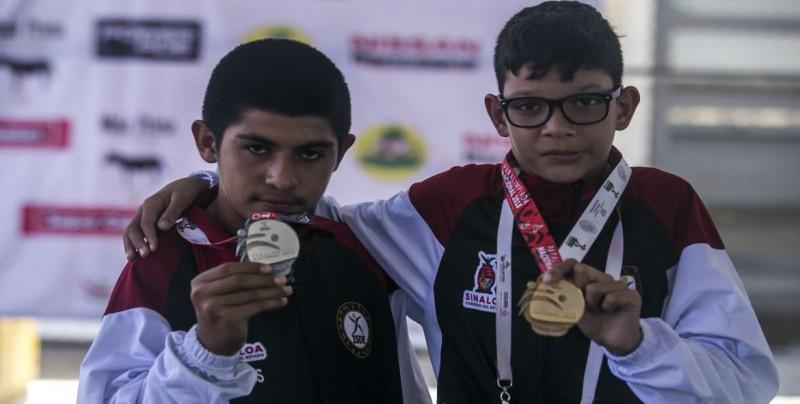Cinco oros para Sinaloa en el Para-Atletismo