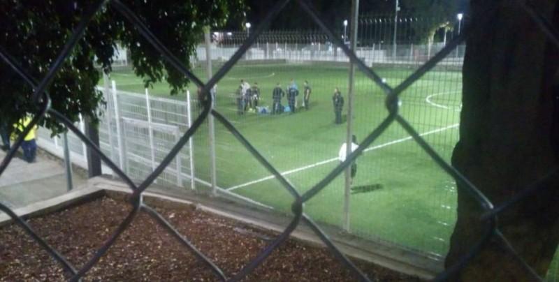 Comando ataca a jugadores de futbol amateur a medio partido