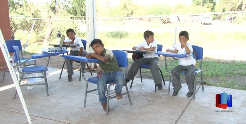 En Bacúm, escuela primaria no tiene Luz