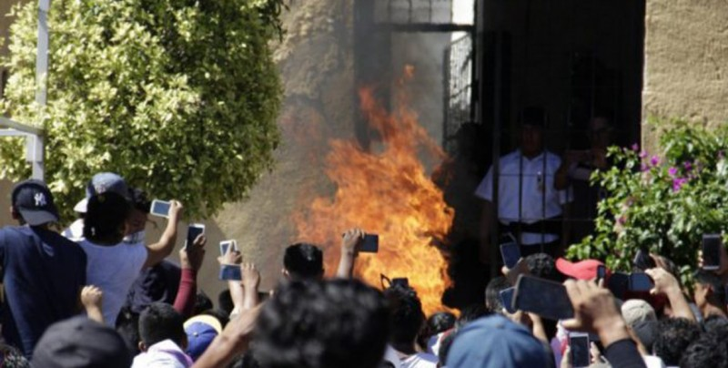 Convocan en redes sociales a 'quemar a roba niños' en Culiacán