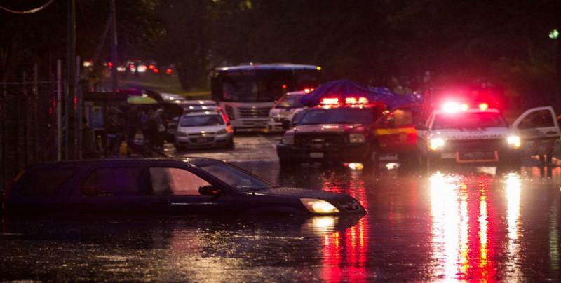 Rompe récord histórico lluvia de este jueves en la CDMX
