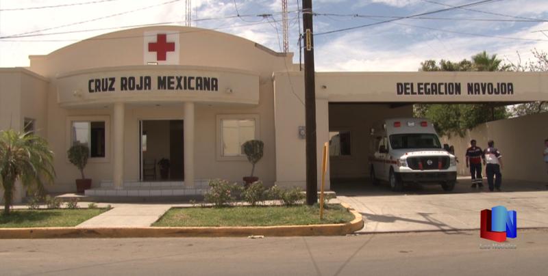 En Navojoa, disminuyen recursos para Cruz Roja
