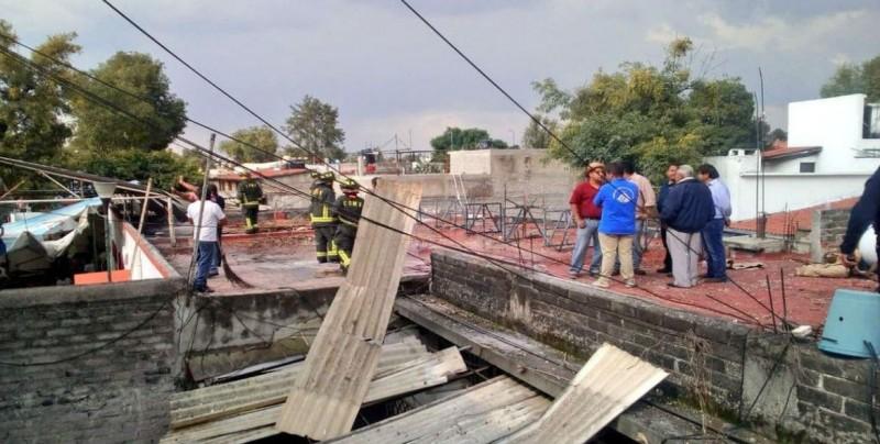 Se registra explosión de pirotecnia en iglesia de Coyoacán