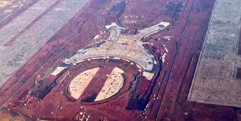Nuevo aeropuerto de México tiene avance de casi 60 % en pistas