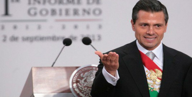 Enrique Peña Nieto presenta sexto y último informe de Gobierno