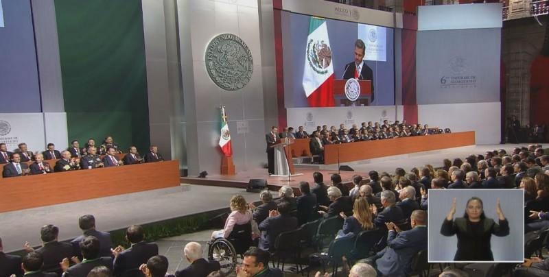 Reconoce el PRI fallas en seguridad en el sexenio de Peña Nieto