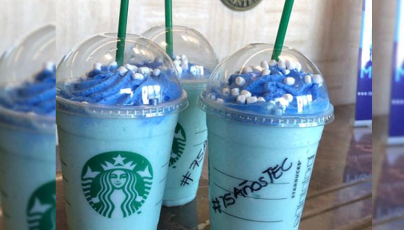 Starbucks lanza un frapuccino alusivo a los 75 años del Tec de Monterrey