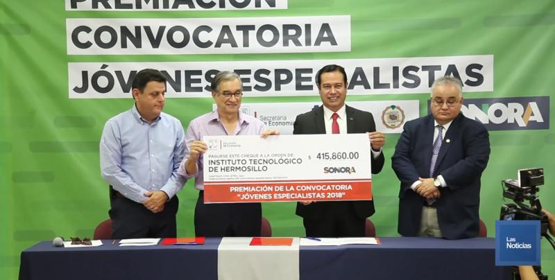 El Instituto Tecnológico de Hermosillo, recibió recursos
