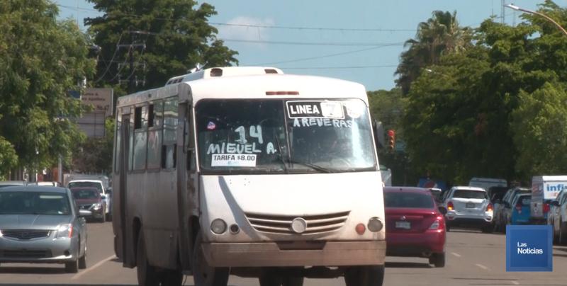 Gobieno de Sonora rechazó el paro de transporte urbano