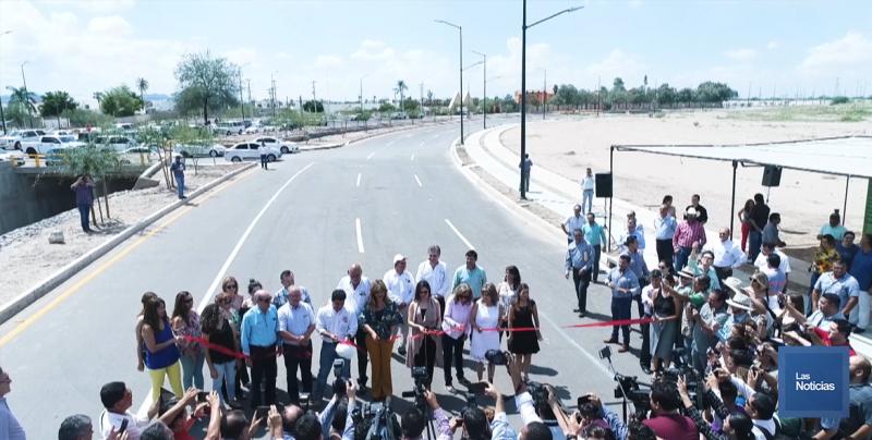 En Hermosillo se entregó la obra del Boulevard Quintero Arce