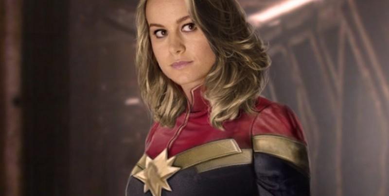 Presentan primer imagen oficial de Brie Larson como 'Captain Marvel'