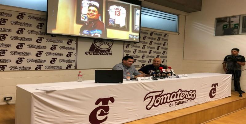 Tomateros retira el número 13 de Rodrigo López