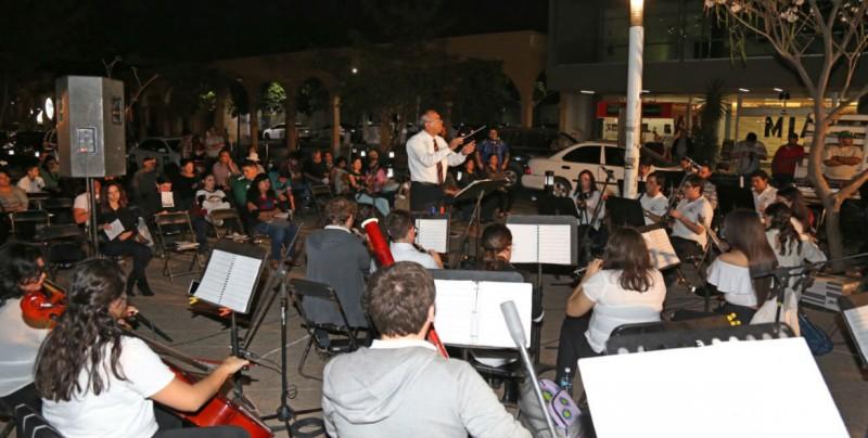 Vuelve la Banda Sinfónica Juvenil a la Plazuela Obregón