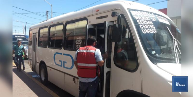 En Sonora sigue la inspección en camiones urbanos