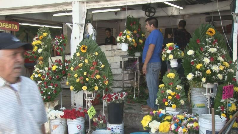 Mercado de Las Flores, entre alegría y misticismo