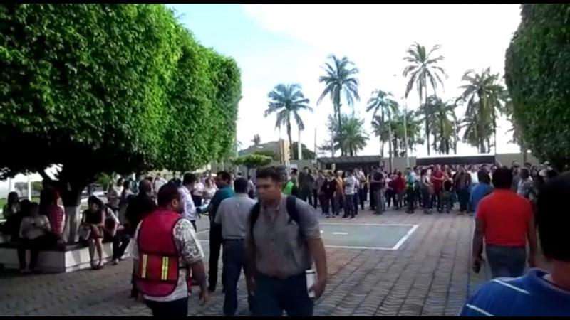 Evacuan edificio de Conapesca por cortocircuito