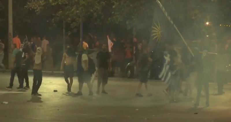 Manifestación en Grecia se vuelve violenta