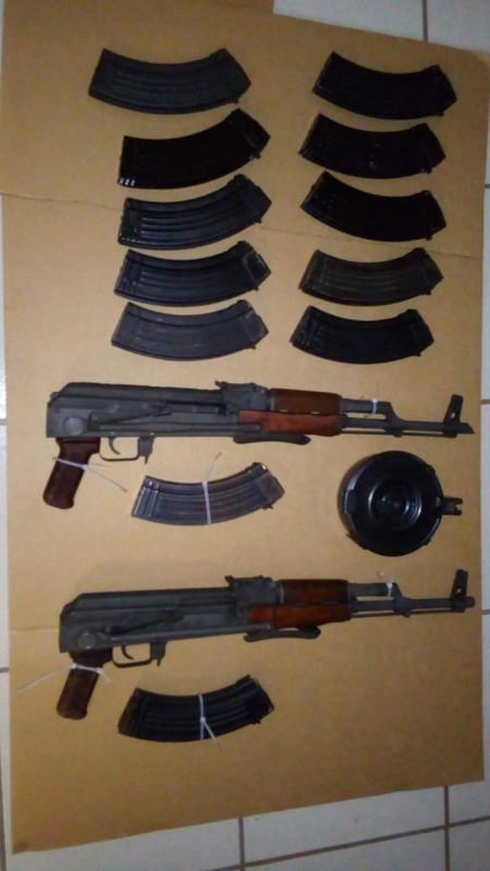SSP Sinaloa asegura armas de uso exclusivo del Ejército