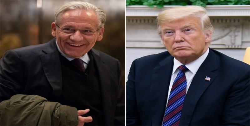 """Trump replica a Woodward que él """"escribirá el verdadero libro"""" de su Gobierno"""