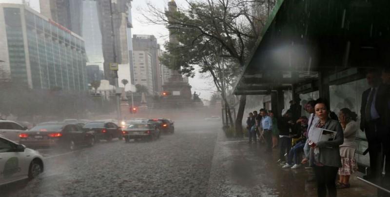 Frente frío 1 y ondas tropicales traerán lluvias al terriotorio nacional