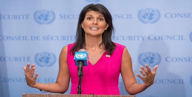 """Haley acusa a Venezuela de tratar de """"distraer"""" de la situación en el país"""