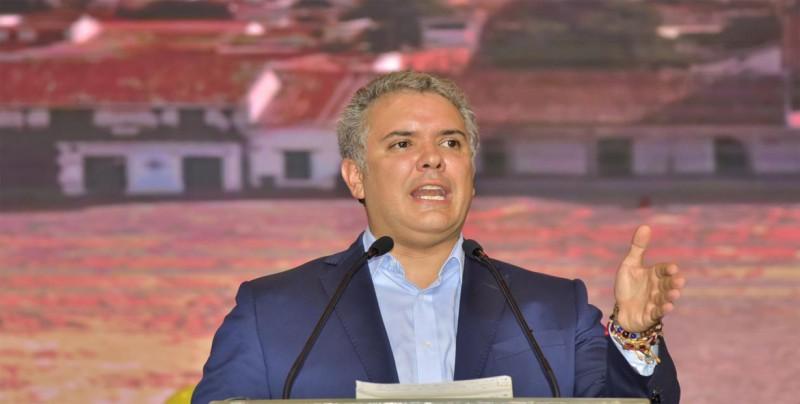 Duque espera reducir 140 mil hectáreas de coca en 4 años