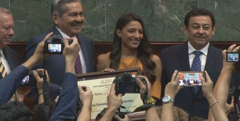 Entrega el Congreso del Estado el Premio al Mérito Juvenil 2018