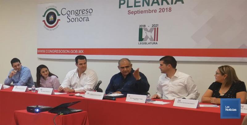 Diputados Locales del PRI salientes y entrantes sostuvieron reunión