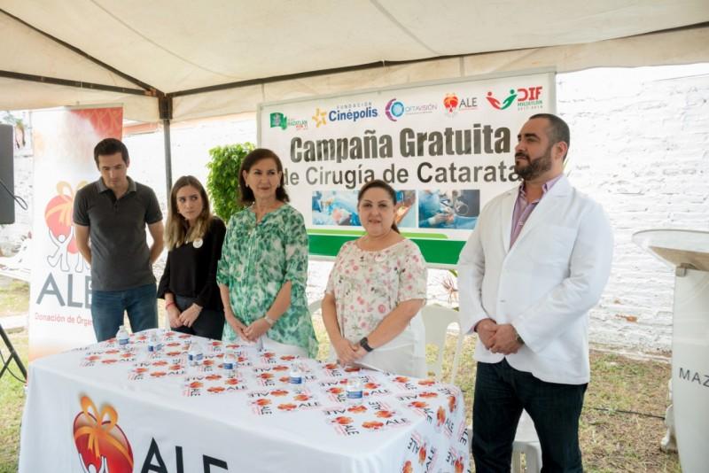 DIF realiza clausura de Campaña de Cirugía de Cataratas Gratuitas