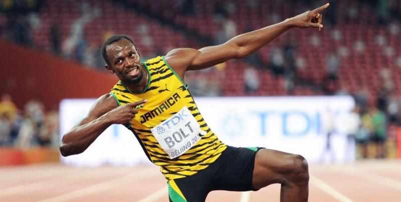 "Usain Bolt subió al Airbus ""Zero-G"", vestido con un traje de astronauta"