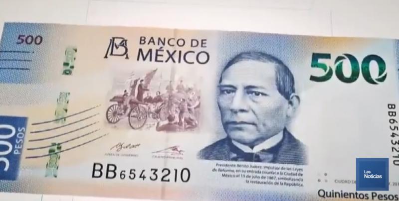En nuevos billetes de Banxico, descarta tema inflacionario