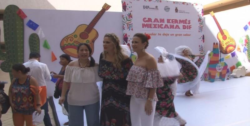 Realizan Kermés Mexicana para recabar recursos en apoyo a la funeraria del DIF