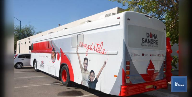 Tiene la Secretaría de Salud de Sonora unidades móviles para donación de sangre