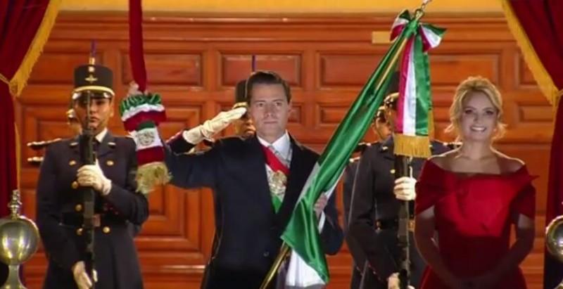 Los memes del último Grito de Independencia de Peña Nieto