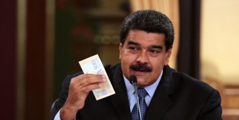 Trabajadores venezolanos protestan por medidas económicas de Maduro