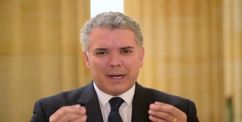 """El presidente Duque asegura que la """"cacería"""" de alias """"Guacho"""" sigue"""