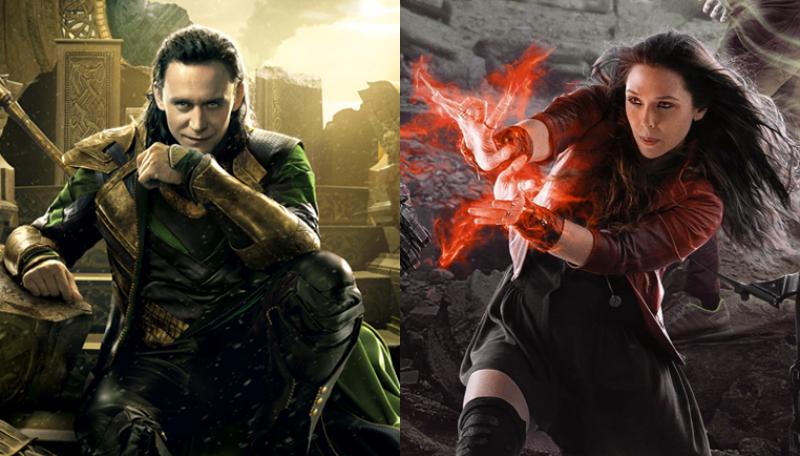 Loki y Scarlet Witch tendrán sus propios programas de televisión en Disney